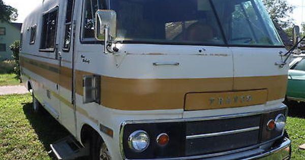 1976 Dodge Travco Classic Campers Vintage Camper Rv Motorhomes