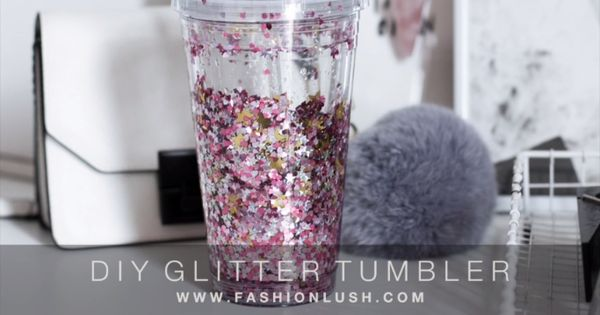 Make A Glitter Tumbler Food Ideas Pinterest Tumblers