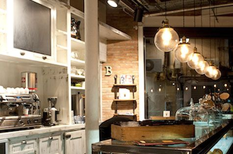 Serraj rdia bakery located in the town of sant cugat del for Interior design firms near me