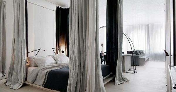 Pin By Kris Winter On Interiors Pinterest Grey Bed Will Have And