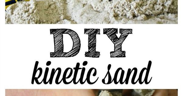 diy kinetic sand recipe diy kinetic sand and kinetic sand. Black Bedroom Furniture Sets. Home Design Ideas