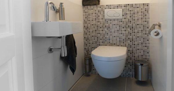 Toilet met mozaik badkamer pinterest wc ontwerp wc en badkamer - Wc opgeschort ontwerp ...