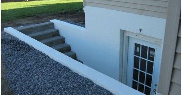 Lighting Basement Washroom Stairs: Fascinating How To Install A New Bilco Door To Replace An