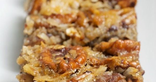 German Chocolate Pecan Pie Bars | These were amazing! I am very