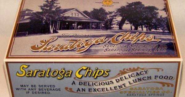 Original Saratoga Potato Chips Reintroduced By Local Company Potato Chips Saratoga Chips