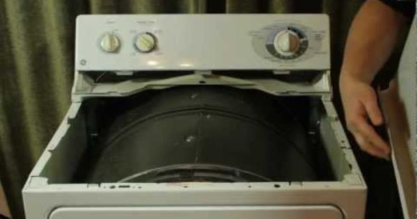 Ge Dryer Repair Re Assembly Put Back Together Assemble Dryer Repair Dryer Repair