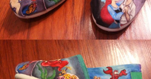 o m g little mermaid shoes?!!! LOVE them! and where can i