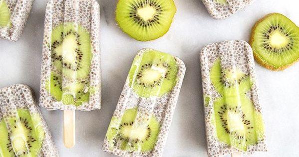kiwi coconut chia popsicles kokosnuss nachgemacht und eis. Black Bedroom Furniture Sets. Home Design Ideas