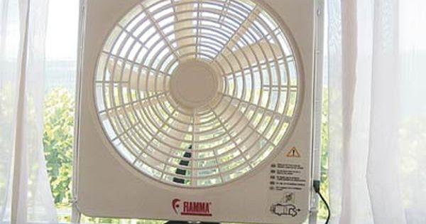 Fiamma Turbo Kit Fan Turbo Roof Light Garage Systems