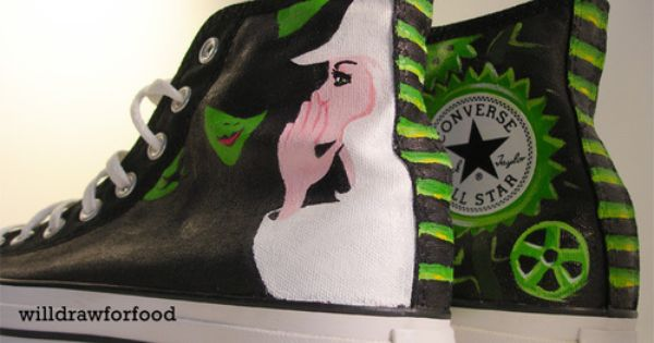 A Wicked pair of Converse. I WANT THESE SOOOO BAD!!!