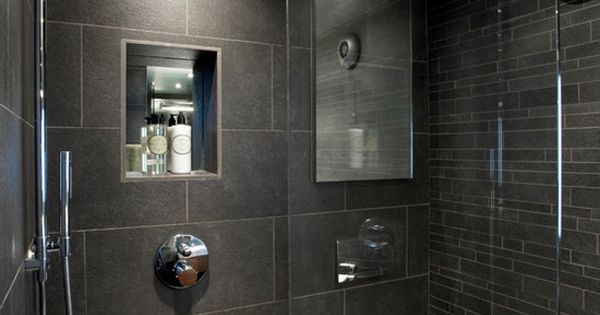 wet room moderne h user sch ner wohnen und badezimmer. Black Bedroom Furniture Sets. Home Design Ideas