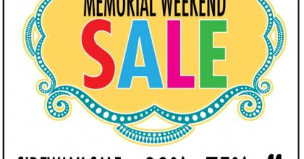 memorial day sales usa
