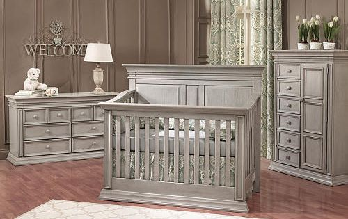 Baby Cache Vienna 4 In 1 Convertible Crib Ash Gray Ash