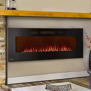 Continental 50 Wall Mount Electric Fireplace Cefl50h Continental Fireplaces Wall Mount Electric Fireplace Electric Fireplace Fireplace