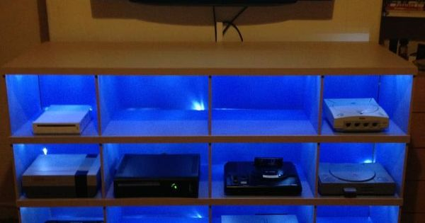 Multiple Game Console Storage Google Search Game Room