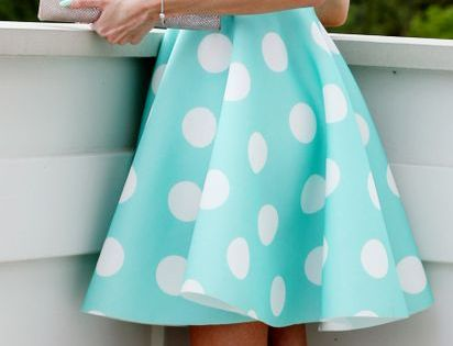 Polka Dot Dress preety good for attending weddings.. a 15 minute metabolic