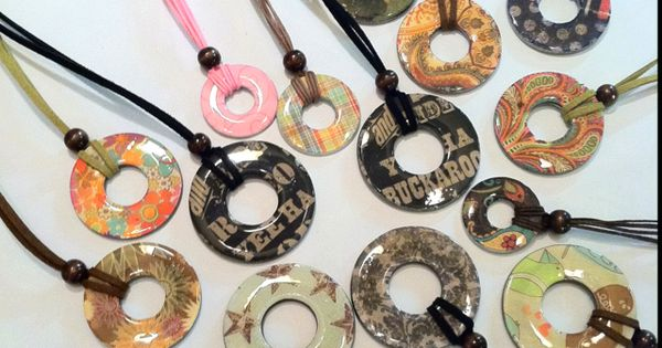 DIY Christmas: Washer Necklaces