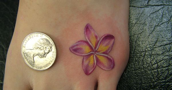 Large Tattoos Enthusiasts of Frangipani Tattoo Ideas: Frangipani ...