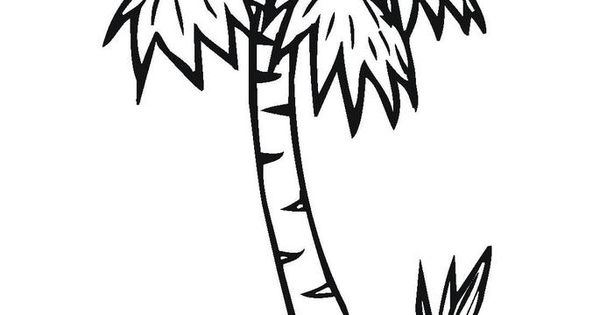 Printable palm tree Chicka chicka boom boom Pinterest