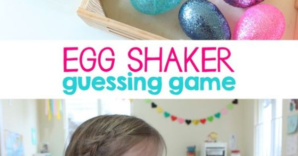 Egg Shaker Guessing Game Helps Kids With Auditory
