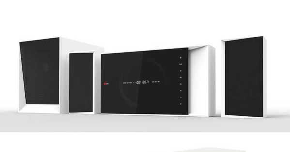 Home theater system concept for lg by claesson koivisto for Home theater design concepts