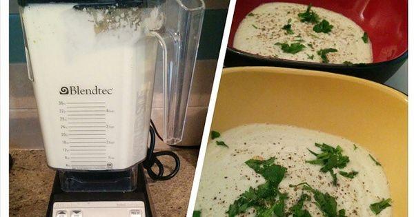 Creamy cauliflower soup cauliflower soup and 10 day detox diet on