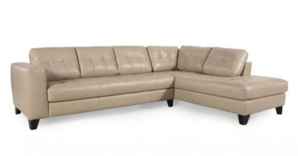 Natuzzi Sofaly Stone Sectional Mathis Brothers Furniture Furniture Sectional Sofa