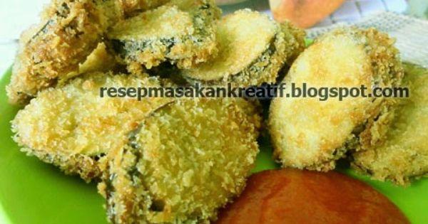 Resep Terong Goreng Tepung Enak Crispy Resep Masakan Indonesia Resep Masakan Terong