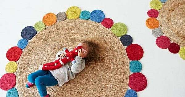 Alfombras hechas con materiales y texturas org nicas - Alfombras hechas a mano con lana ...