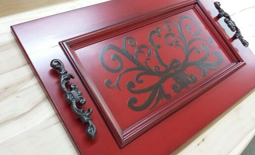 Cabinet Door Serving Tray By Cabinet Doors And More In