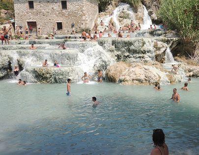 Terme di Saturnia, Toscana, Italia
