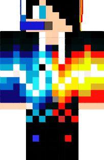 Block Gamer El Prooo Nova Skin Minecraft Skins Rainbow Minecraft Girl Skins Minecraft