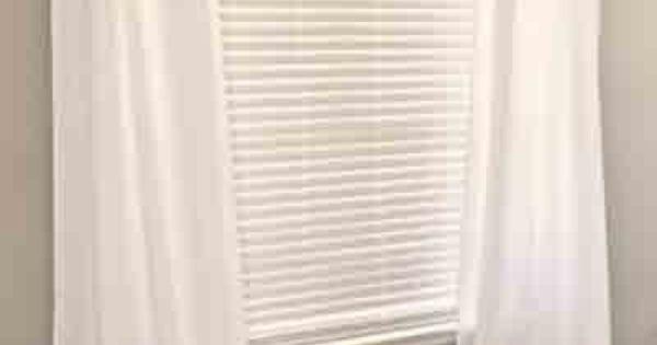 Homemade floor length curtains on a budget for Cheap floor length curtains