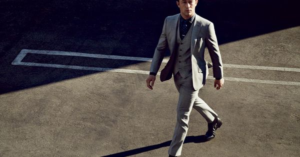 Joseph Gordon-Levitt in Three-Piece Suits - GQ Fall Fashion Preview August 2012