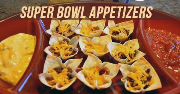 Ten easy super bowl appetizers superbowl appetizers for Super bowl appetizers pinterest