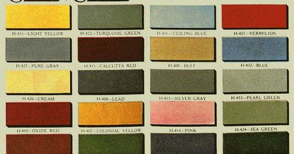 Green Cream Vermilion 1930s House Color Exterior 18 Bungalow Paint Color Schemes Pick Your