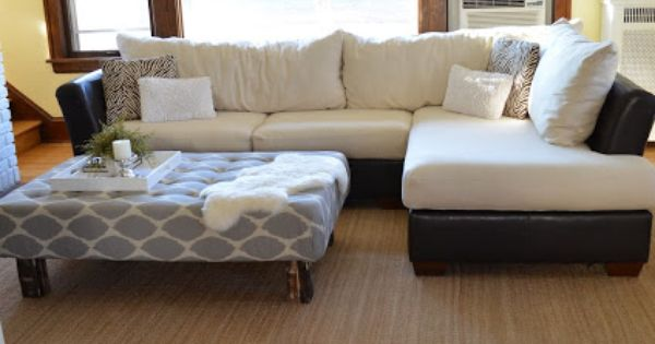 Recovering L Shaped Couch Cushions Sew All The Things