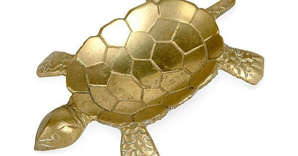 LAWSON-FENNING Brass Turtle Serving Dish