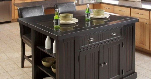 Movable Kitchen Island With Seating Good Idea : Chair And