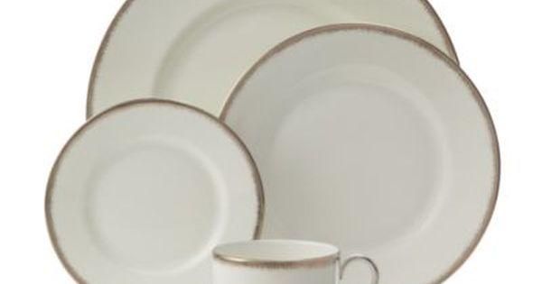 Wedgwood Silver Aster Dinnerware Bloomingdale S Wedding Gift