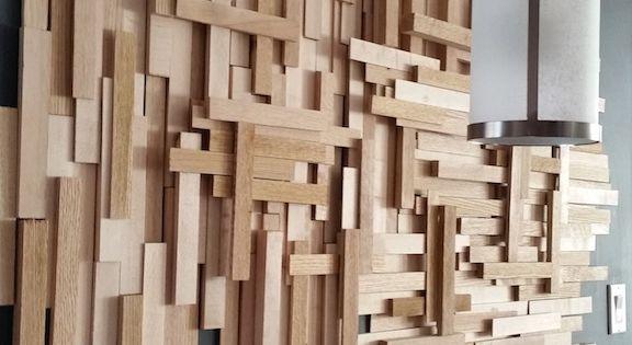 Un diy de d co murale en bois pour moins de 20 d cor for Deco murale annee 70