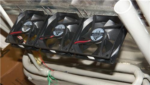 Dometic Add On Frame Fan Bracket Kit 2 Fans Thermostat Wiring