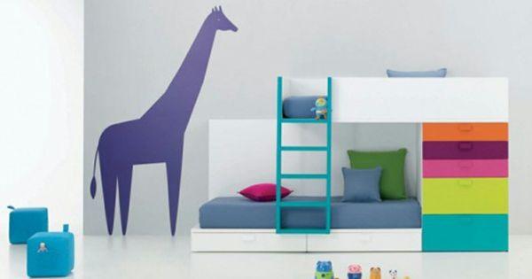 Kinder etagenbett bilder jugendzimmer baby wanddeko for Jugendzimmer etagenbett