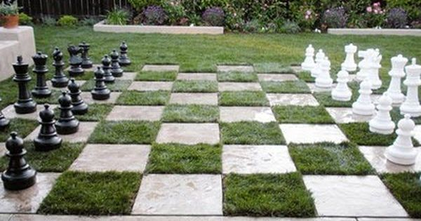 Patio Ideas On A Budget - I would love an outdoor chess