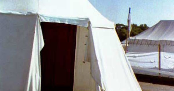 How to make a pavilion style tent sca kit pinterest for Build your own canvas tent