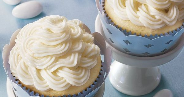 Double Almond Cupcakes | 1 box Betty Crocker® SuperMoist® white cake mix
