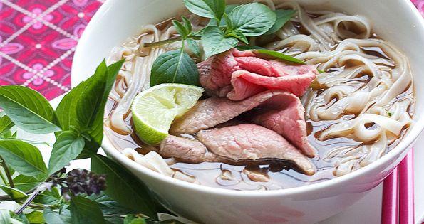 Vietnamese Pho: Beef Noodle Soup | New Asian Cuisine