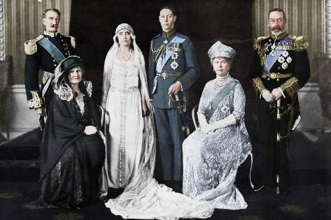 The Wedding Of The Duke Of York And Lady Elizabeth Bowes Lyon 1923 Photographic Print Unknown Art Com Royal Weddings Lady Elizabeth Royal Wedding Dress