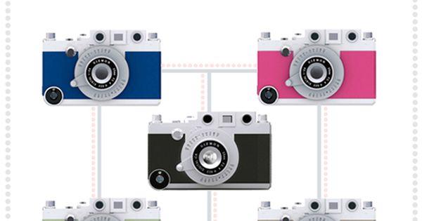 IPhone Holder that looks like a camera, too cute!!!