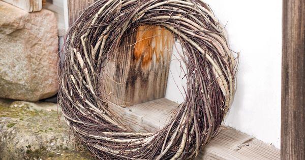 deko kranz reisig gro kr nze deko wohnambiente shop herbst pinterest deko. Black Bedroom Furniture Sets. Home Design Ideas
